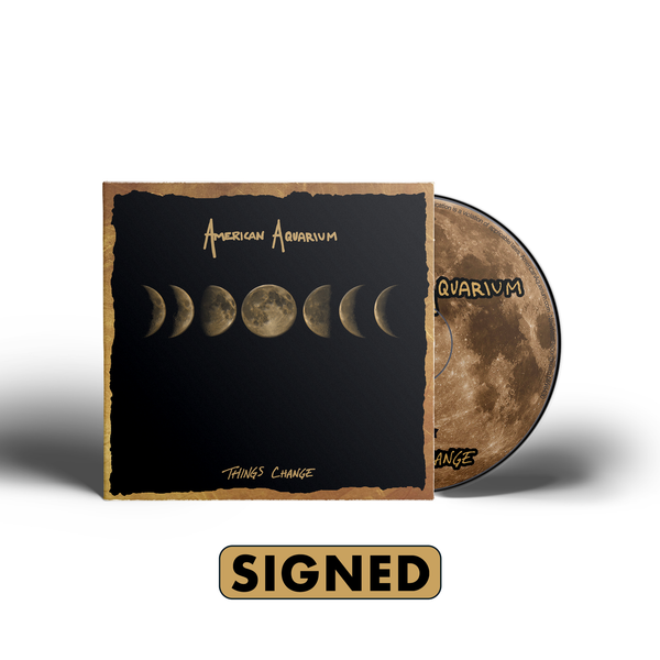 American Aquarium - Things Change [SIGNED CD + T-Shirt Bundle]