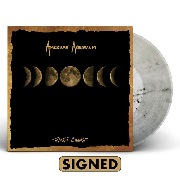 American Aquarium - Things Change [SIGNED Vinyl + SIGNED CD + T-Shirt Bundle]