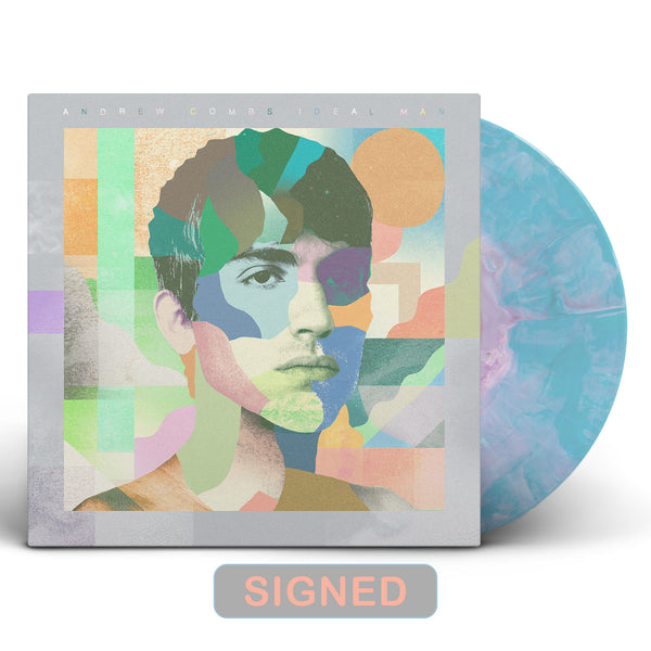 Andrew Combs - Ideal Man [SIGNED New West Exclusive Colored Vinyl]