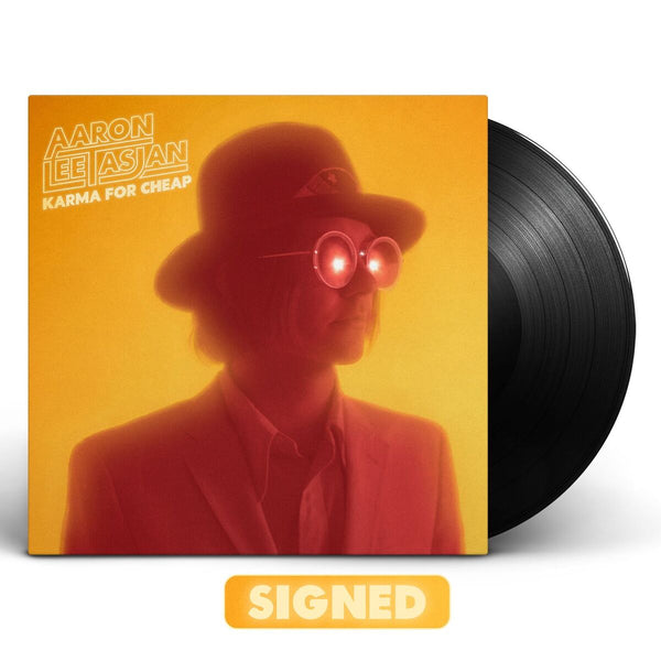 Aaron Lee Tasjan - Karma For Cheap [SIGNED Vinyl + SIGNED CD Bundle]