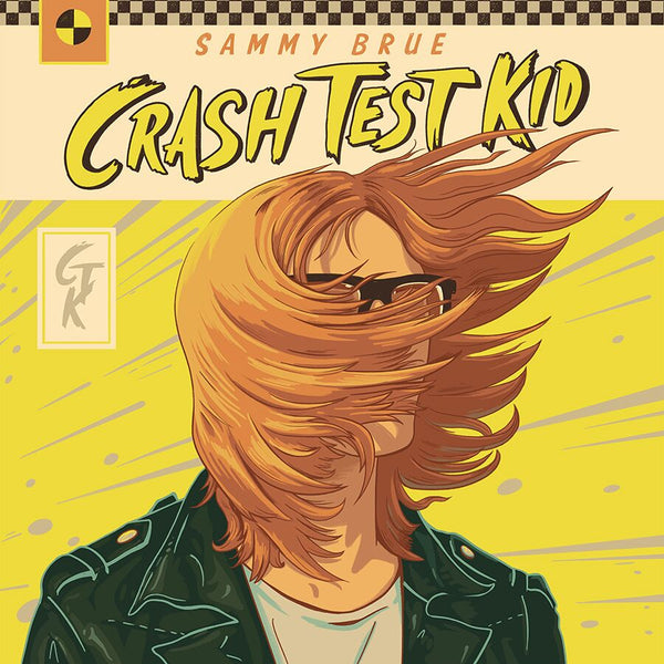 Sammy Brue - Crash Test Kid [SIGNED Colored Vinyl + T-Shirt Bundle]