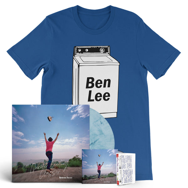 Ben Lee - Quarter Century Classix [New West Exclusive Colored Vinyl + CD + Cassette + T-Shirt Bundle]