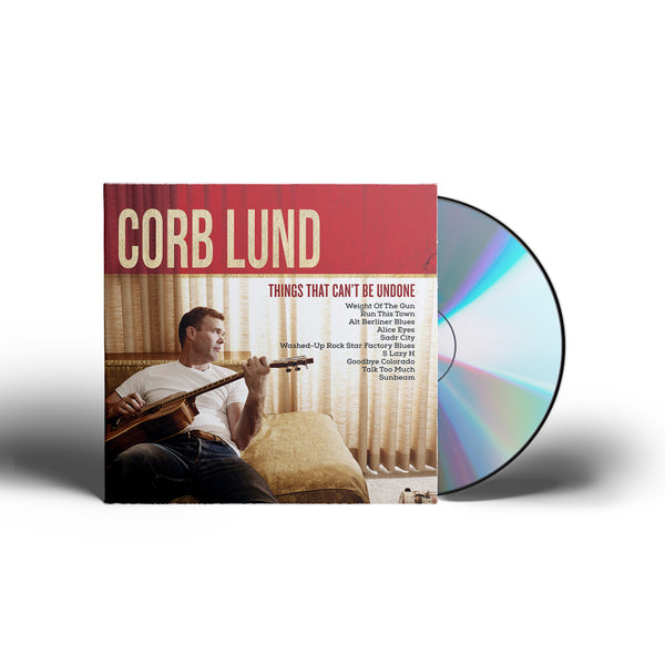 Corb Lund - Things That Can't Be Undone [CD/DVD]
