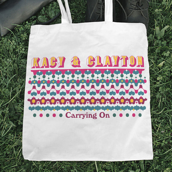 Kacy & Clayton - Carrying On [Tote Bag]