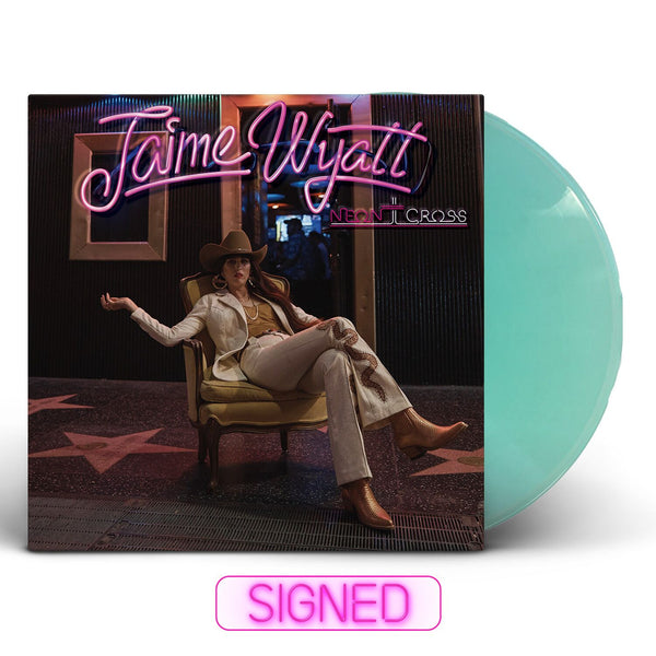 Jaime Wyatt - Neon Cross [SIGNED New West Exclusive Colored Vinyl + T-Shirt Bundle]