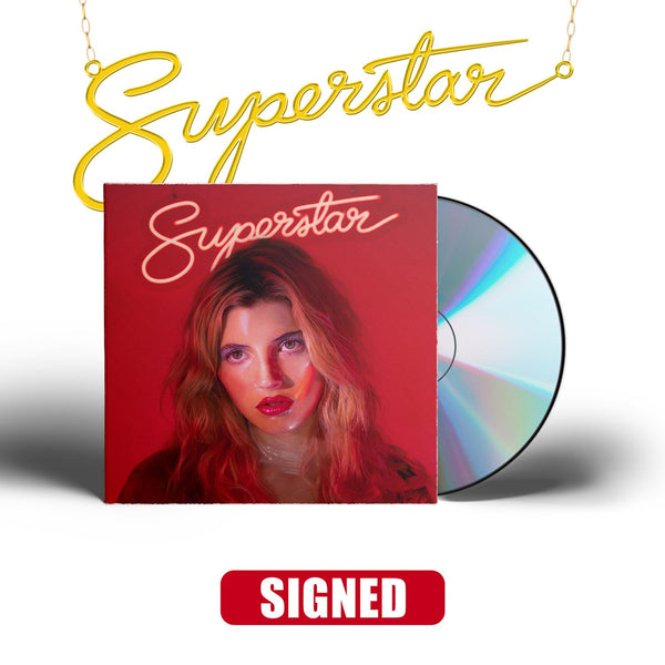 Caroline Rose - Superstar [SIGNED CD + Necklace Bundle]