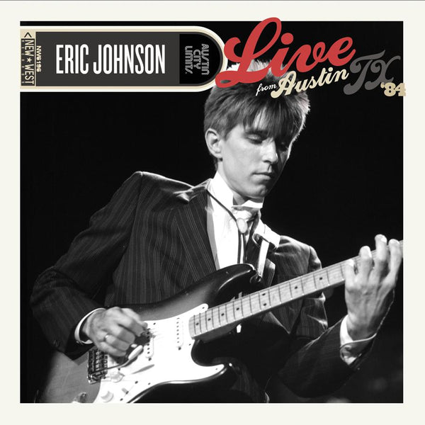 Eric Johnson - Live From Austin, TX '84 [CD/DVD]