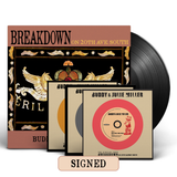 "Buddy & Julie Miller - Breakdown On 20th Ave. South [SIGNED Vinyl + SIGNED CD + 3x 7"" Singles + T-Shirt Ultimate Bundle]"