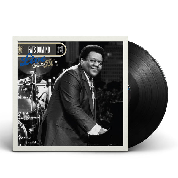 Fats Domino Live From Austin Tx Vinyl New West Records