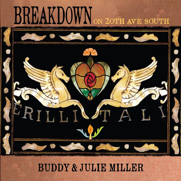 Buddy & Julie Miller - Breakdown On 20th Ave. South [SIGNED CD + T-Shirt Bundle]