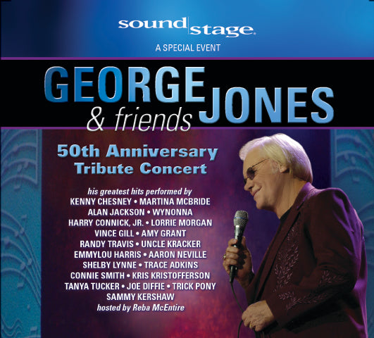 George Jones - 50th Anniversary [CD/DVD]