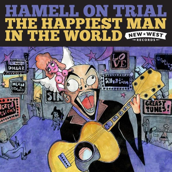 Hamell On Trial - The Happiest Man In The World [Vinyl]