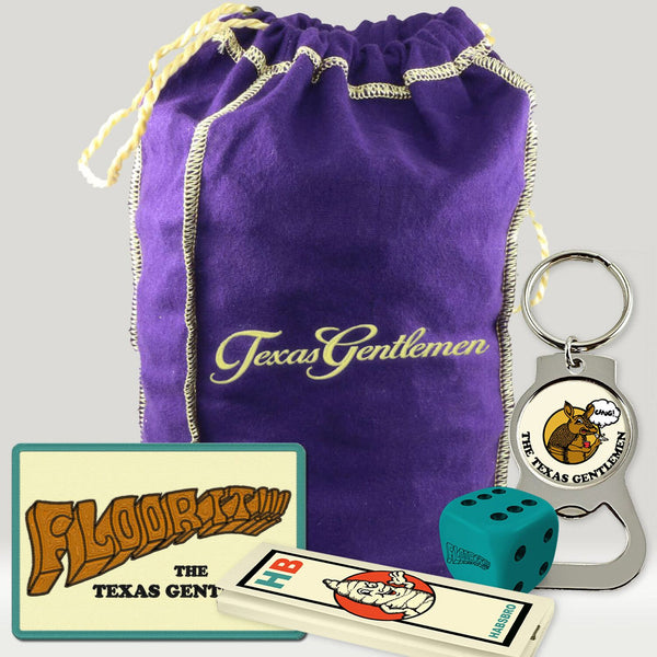 The Texas Gentlemen - Floor It!!! Stash Bag