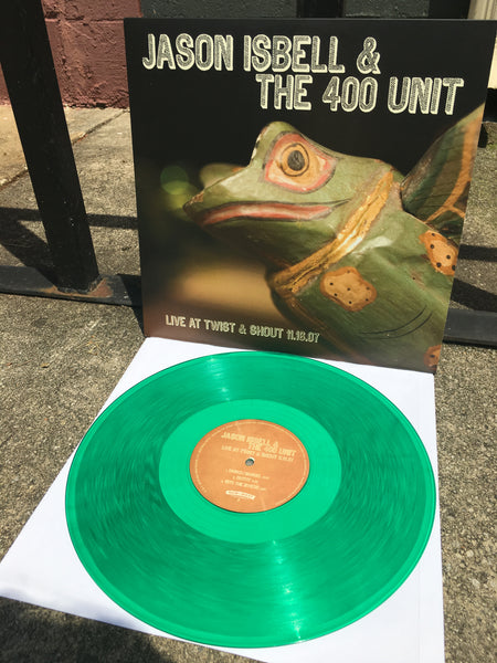 Jason Isbell & The 400 Unit - Live At Twist & Shout [New West Exclusive Colored Vinyl]