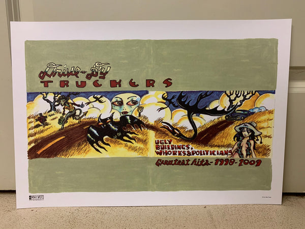 Drive-By Truckers - Greatest Hits Lithograph