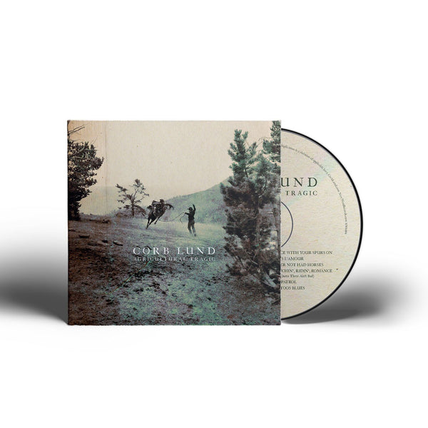 Corb Lund - Agricultural Tragic [Colored Vinyl + CD + T-Shirt Bundle]
