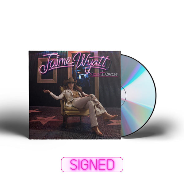 Jaime Wyatt - Neon Cross [SIGNED CD + T-Shirt Bundle]