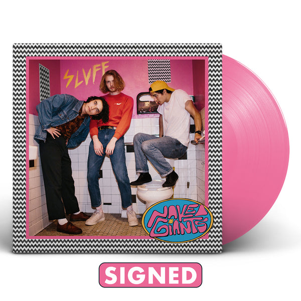 Naked Giants - SLUFF [SIGNED Vinyl + T-Shirt Bundle]