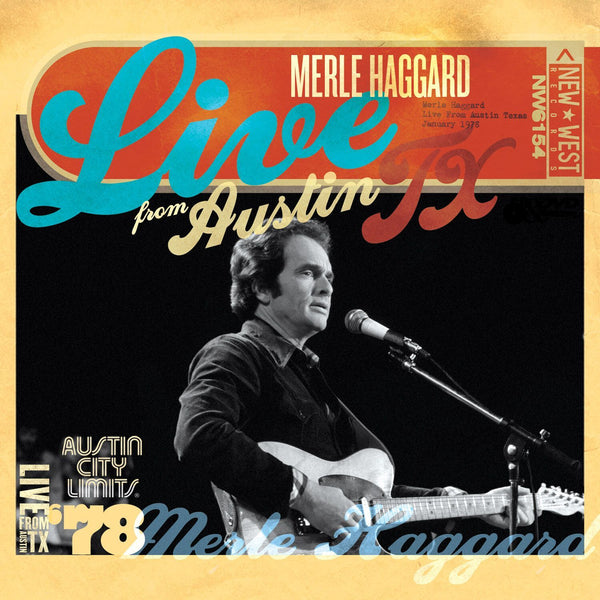 Merle Haggard '78 - Live From Austin, TX [CD/DVD]