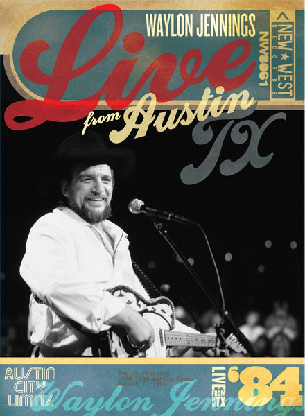 Waylon Jennings '84 - Live From Austin, TX [DVD]