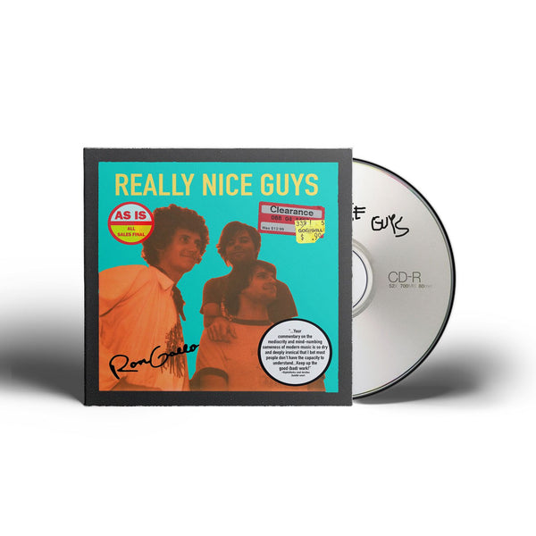 Ron Gallo - Really Nice Guys EP [CD]
