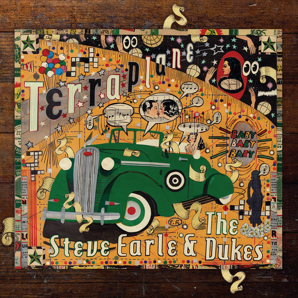 Steve Earle & The Dukes - Terraplane [CD]