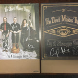 The Devil Makes Three - I'm A Stranger Here Signed Poster