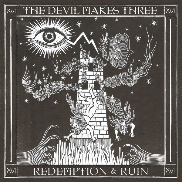 The Devil Makes Three - Redemption & Ruin [CD]