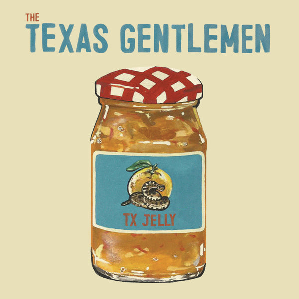 The Texas Gentlemen - TX Jelly [SIGNED Test Pressing]