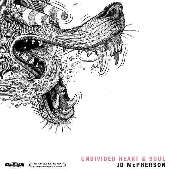 JD McPherson - UNDIVIDED HEART & SOUL [Black Friday Exclusive Colored Vinyl]