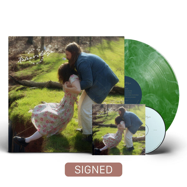 Kalen & Aslyn - Back Of Our Minds [SIGNED Colored Vinyl + SIGNED CD Bundle]
