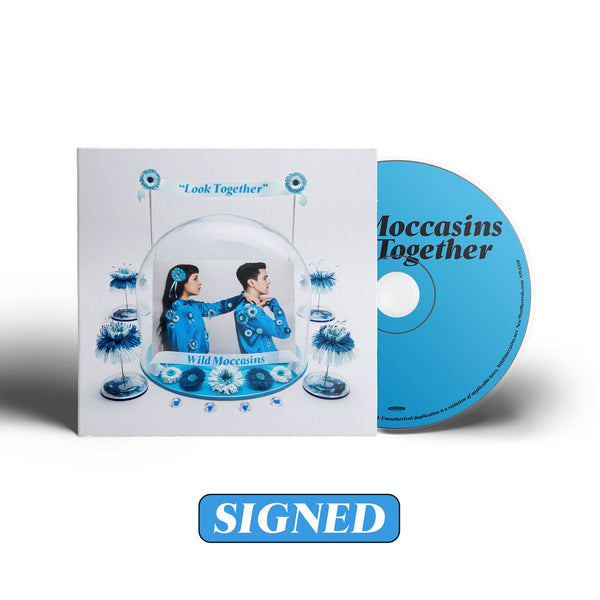 Wild Moccasins - Look Together [SIGNED CD]