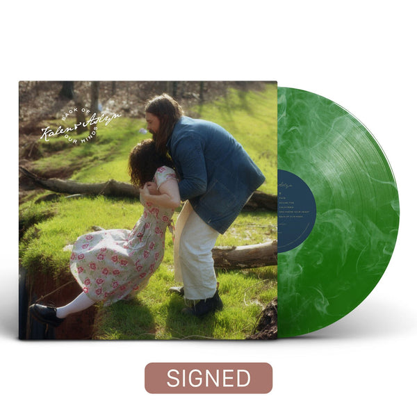 Kalen & Aslyn - Back Of Our Minds [SIGNED Colored Vinyl]