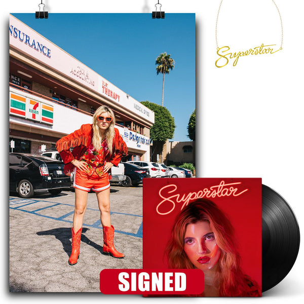 Caroline Rose - Superstar [SIGNED New West Exclusive Vinyl + Necklace Bundle]