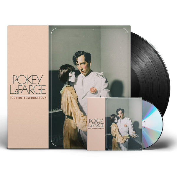 Pokey LaFarge - Rock Bottom Rhapsody [Vinyl + CD Bundle]