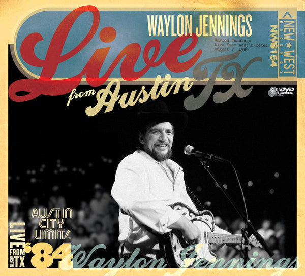 Waylon Jennings '84 - Live From Austin, TX [CD/DVD]
