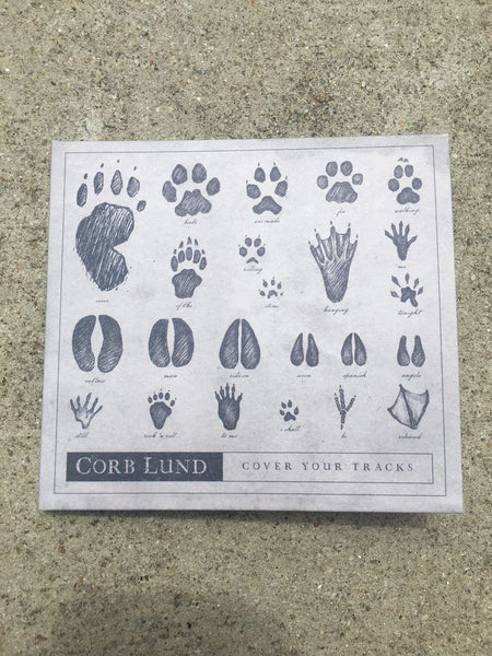Corb Lund - Cover Your Tracks [CD + T-Shirt Bundle]