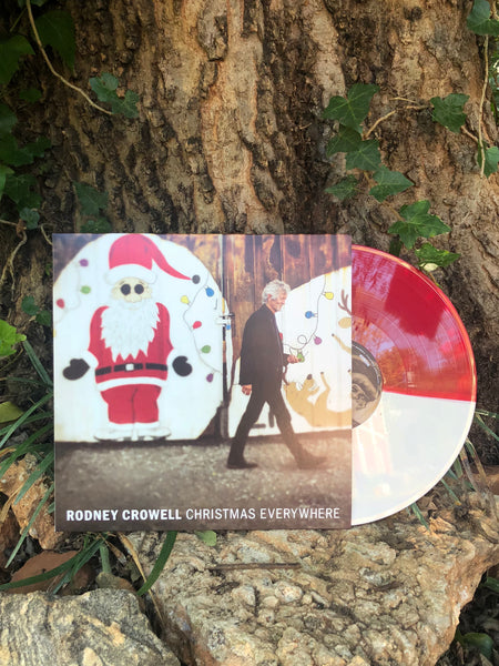 Rodney Crowell - Christmas Everywhere [Exclusive SIGNED Colored Vinyl]