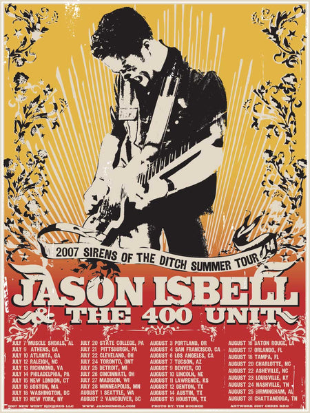 Jason Isbell - Sirens Of The Ditch Poster