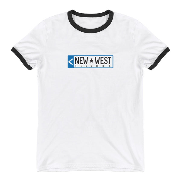 New West Old-School Logo Ringer T-Shirt