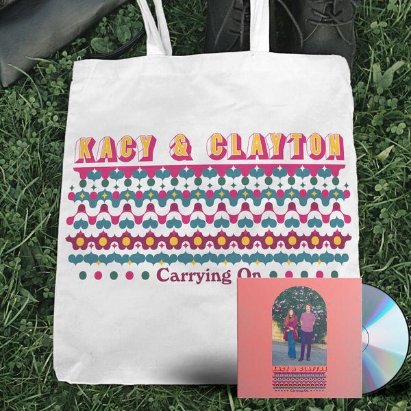 Kacy & Clayton - Carrying On [CD + Tote Bag Bundle]