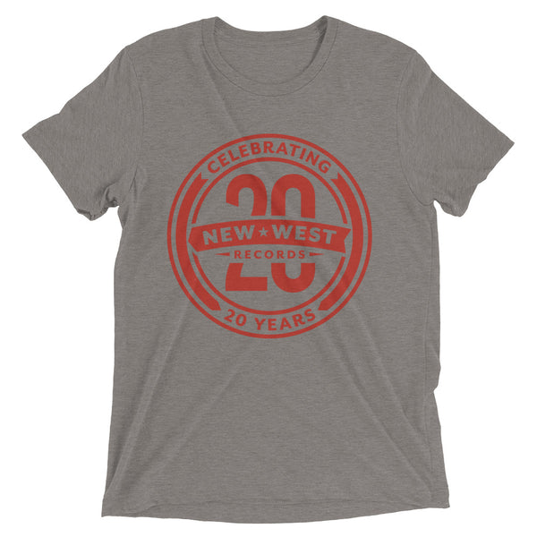 20th Anniversary Unisex Short Sleeve T-Shirt (Red Logo)