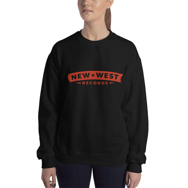 New West Red Logo Unisex Crewneck Sweatshirt