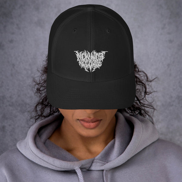 New West Records Heavy Metal Logo Trucker Cap