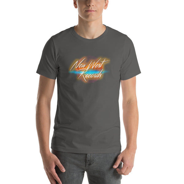 80s Retro New West Records Short-Sleeve Unisex T-Shirt