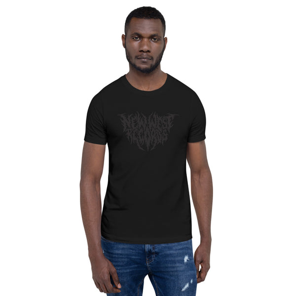 New West Records Heavy Metal Logo Unisex T-Shirt [None More Black]