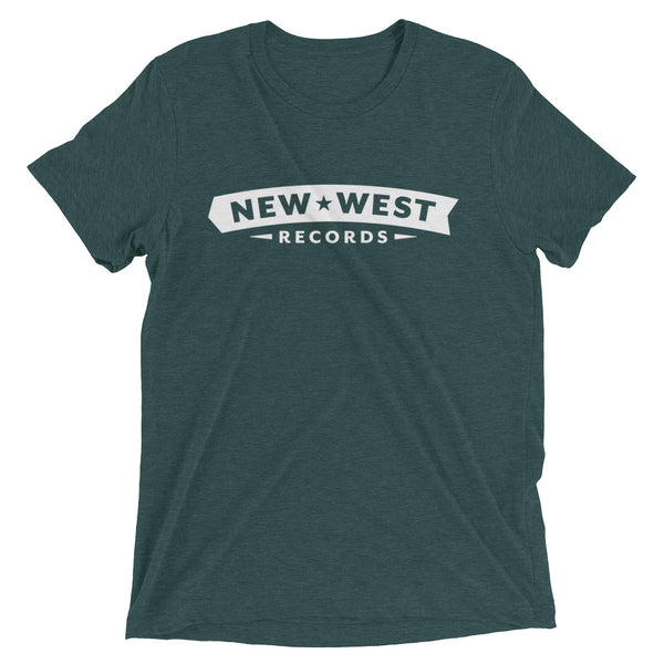 New West White Logo Short Sleeve T-shirt