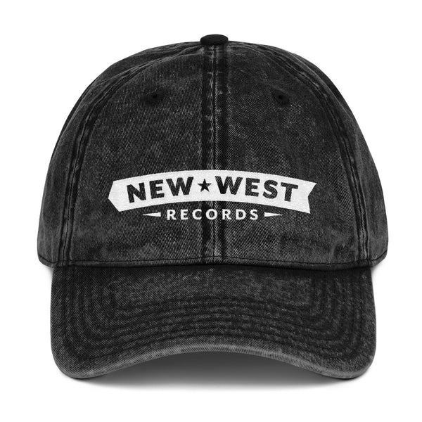 New West Logo Vintage Cotton Dad Cap