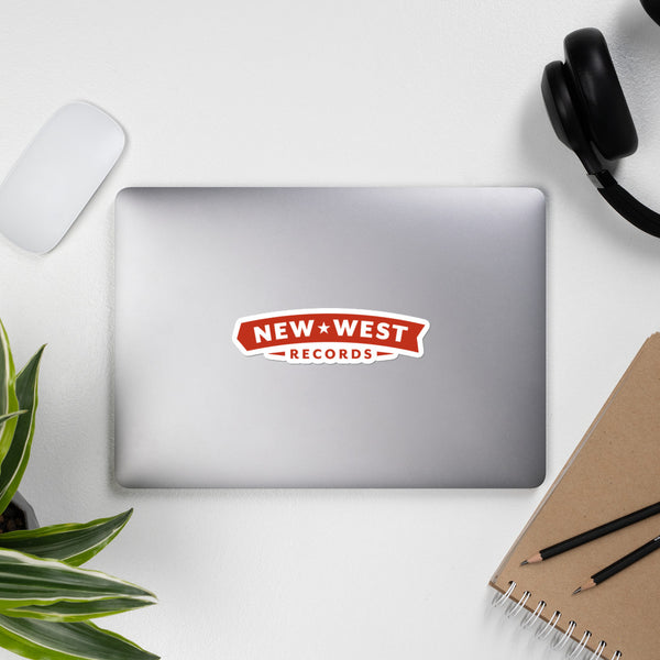 New West Logo Stickers