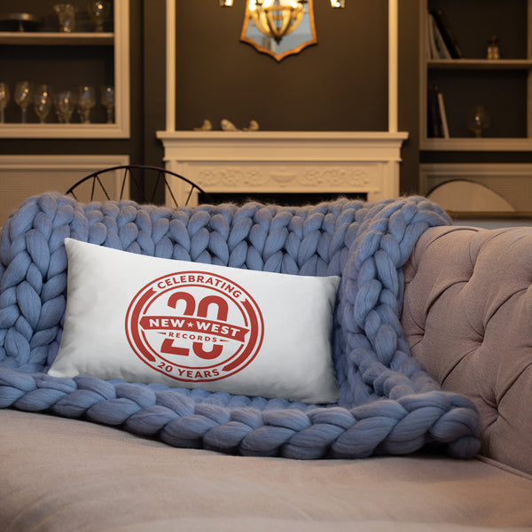 New West Logo Throw Pillow